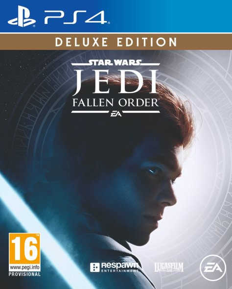Star Wars Jedi Fallen Order Deluxe PS4 Cover Key Art Revealed