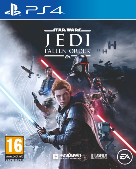 Star Wars Jedi Fallen Order PS4 Cover Key Art Revealed