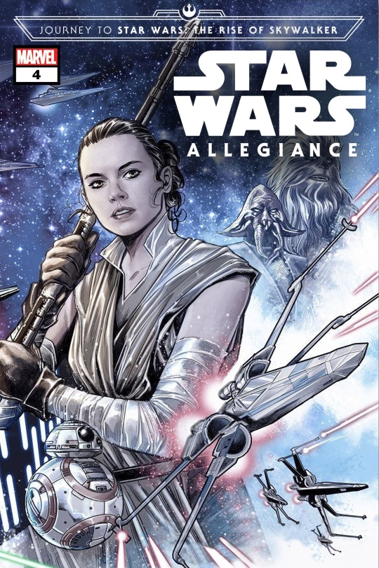 Journey to Star Wars The Rise of Skywalker - Allegiance Marvel Issue 4