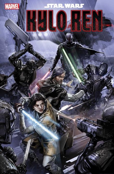 Marvel Comics Star Wars- The Rise of Kylo Ren Cover Art Clayton Crain