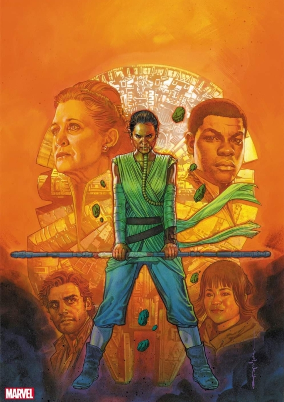 Star Wars - Allegiance - Journey to The Rise of Skywalker - Issue 1 Variant Cover by Brian Stelfreeze