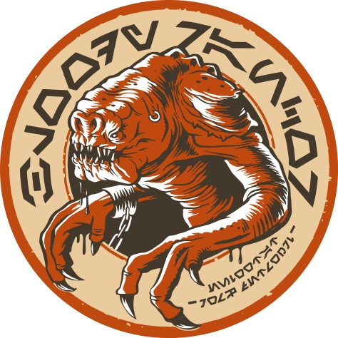 Star Wars Galaxy's Edge Oga's Cantina - Bloody Rancor Imported From Tatooine Coaster - Beer Mat