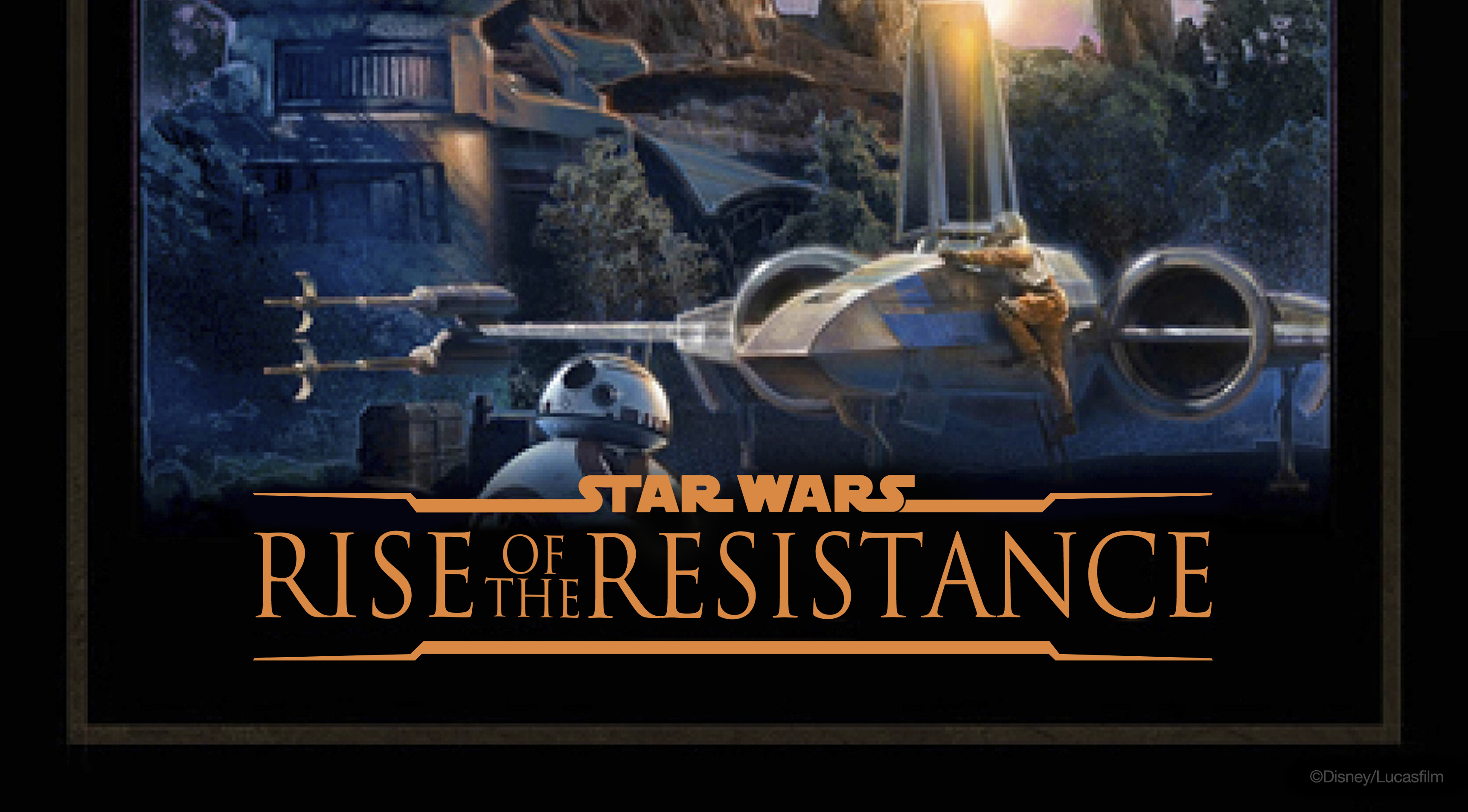 Star Wars Galaxy S Edge Rise Of The Resistance Poster Geek Carl