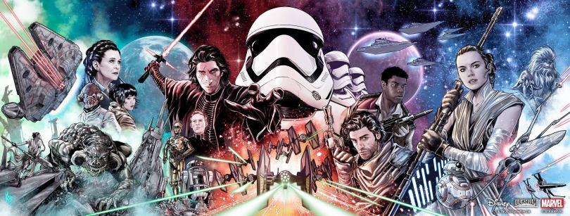 Star Wars The Rise of Skywalker Allegiance Promo Art