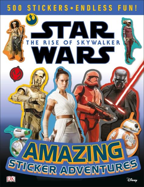 Star Wars The Rise of Skywalker - DK The Amazing Sticker Adventures
