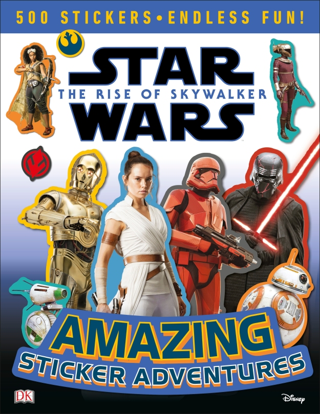 Star Wars The Rise of Skywalker - DK The Amazing Sticker Adventures