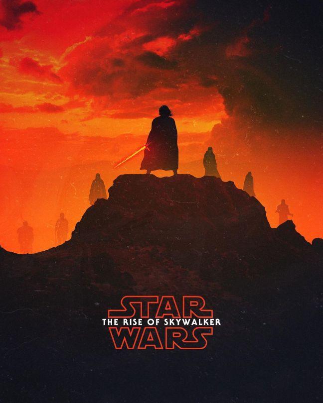 Star Wars The Rise of Skywalker Fan Poster by Max Beech
