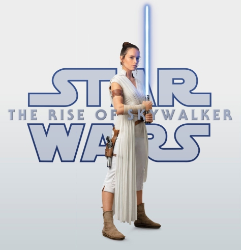 Star Wars The Rise of Skywalker - Rey Poster