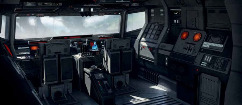 Art of Star Wars Jedi: Fallen Order Concept Art - AT-AT Walker Cockpit