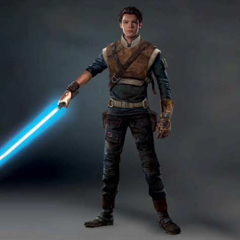 Art of Star Wars Jedi: Fallen Order Concept Art - Cal Kestis