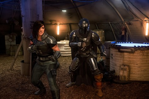 Pedro Pascal teams with Gina Carano in NEW Star Wars The Mandalorian photo