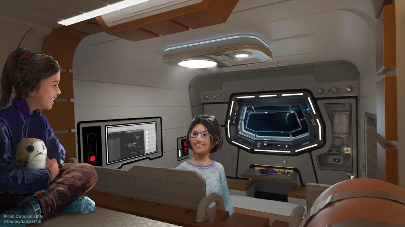 Star Wars- Galactic Starcruiser Hotel – Passenger Cabin New Concept Art