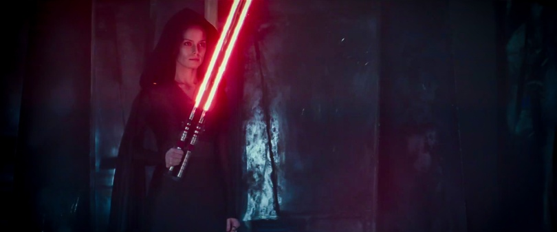 Star Wars The Rise of Skywalker D23 Special Look Footage Dark Rey