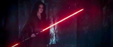 Star Wars The Rise of Skywalker D23 Special Look Footage Darth Rey