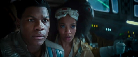 Star Wars The Rise of Skywalker D23 Special Look Footage Finn and Jannah