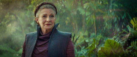 Star Wars The Rise of Skywalker D23 Special Look Footage General Leia
