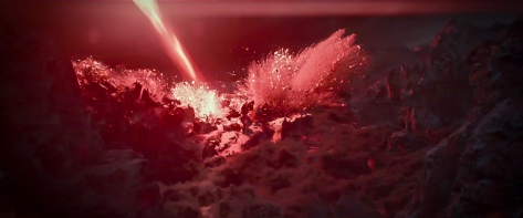 Star Wars The Rise of Skywalker D23 Special Look Footage Planet Explosion