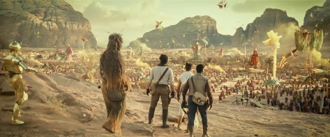 Star Wars The Rise of Skywalker D23 Special Look Footage The Desert Planet Pasaana