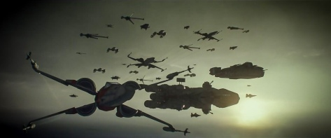 Star Wars The Rise of Skywalker D23 Special Look Footage The Resistance Fleet