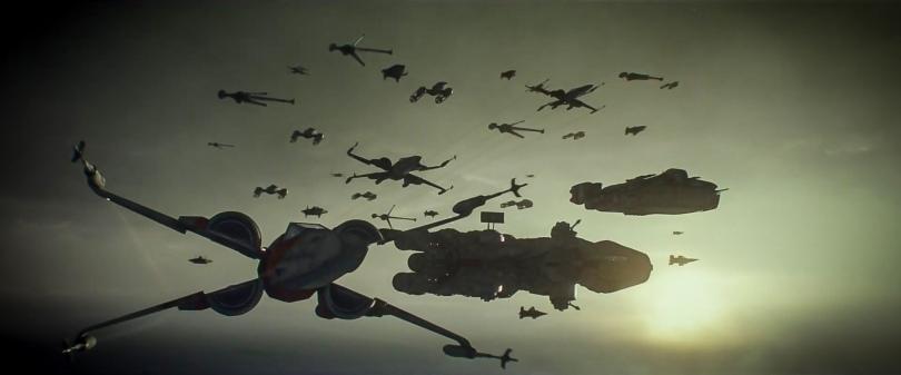 Star Wars The Rise of Skywalker D23 Special Look Footage The Resistance Fleet