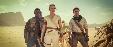 Star Wars The Rise of Skywalker D23 Special Look Footage The Resistance