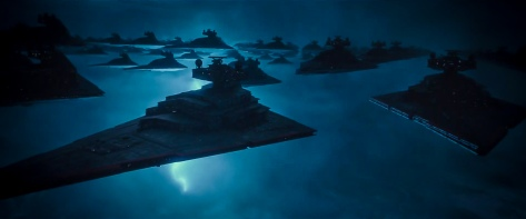 Star Wars The Rise of Skywalker D23 Special Look Footage Unknown Region Sith Fleet