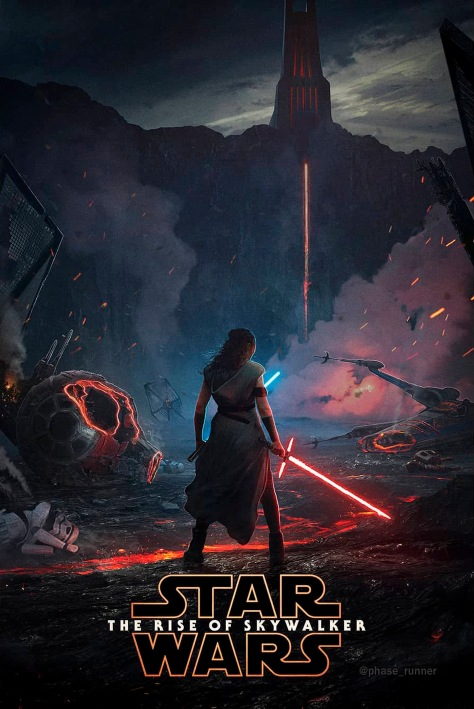 Star Wars The Rise of Skywalker FanArt Poster by Phase_Runner