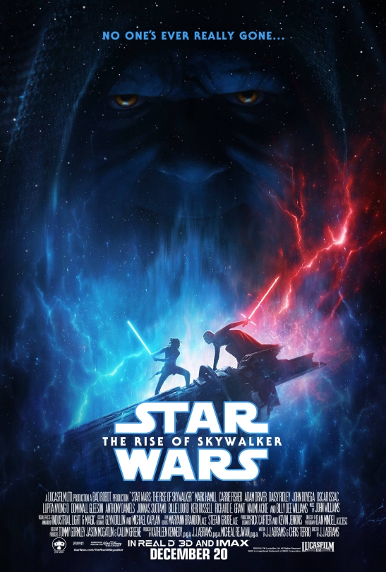 Star Wars: The Rise of Skywalker Poster ...with added Credits