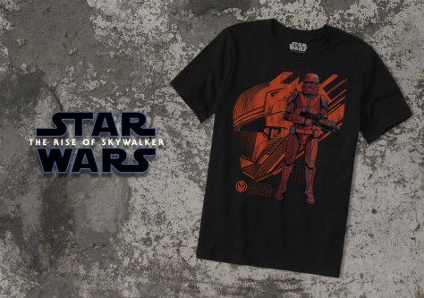 Star Wars - The Rise of Skywalker - Sith Trooper Apparel - T-Shirts - 7