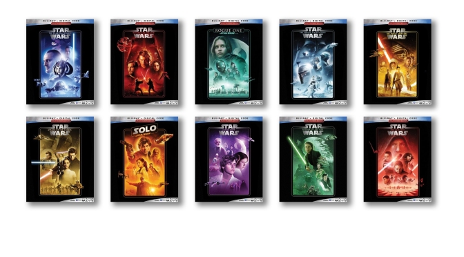 The Star Wars Saga – Blu-Ray 2019 Re-Release