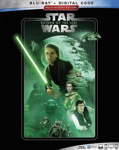 The Complete Star Wars Saga - Blu-Ray Re-Release 22nd September 2019 - Return of the Jedi Cover Art