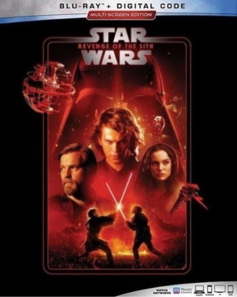 The Complete Star Wars Saga - Blu-Ray Re-Release 22nd September 2019 - Revenge of the Sith Cover Art