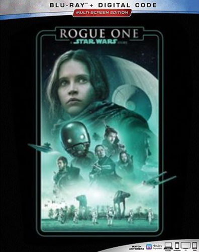 The Complete Star Wars Saga - Blu-Ray Re-Release 22nd September 2019 - Rogue One Cover Art