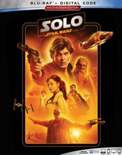 The Complete Star Wars Saga - Blu-Ray Re-Release 22nd September 2019 - Solo A Star Wars Story Cover Art