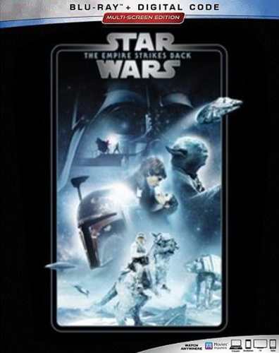 The Complete Star Wars Saga - Blu-Ray Re-Release 22nd September 2019 - The Empire Strikes Back Cover Art