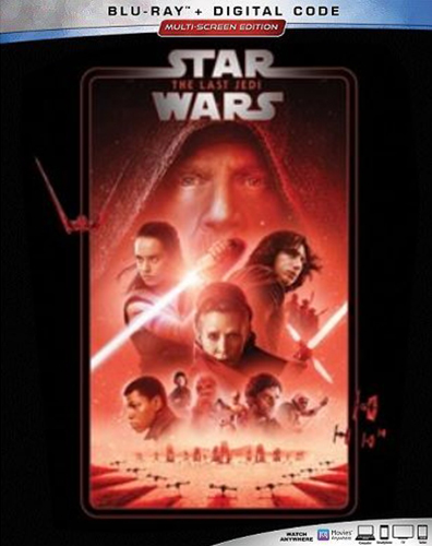 The Complete Star Wars Saga - Blu-Ray Re-Release 22nd September 2019 - The Last Jedi Cover Art