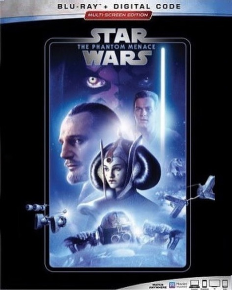 The Complete Star Wars Saga - Blu-Ray Re-Release 22nd September 2019 - The Phantom Menace Cover Art