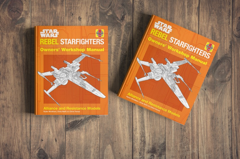 The Star Wars Haynes Rebel Starfighter Owners' Workshop Manual Cover