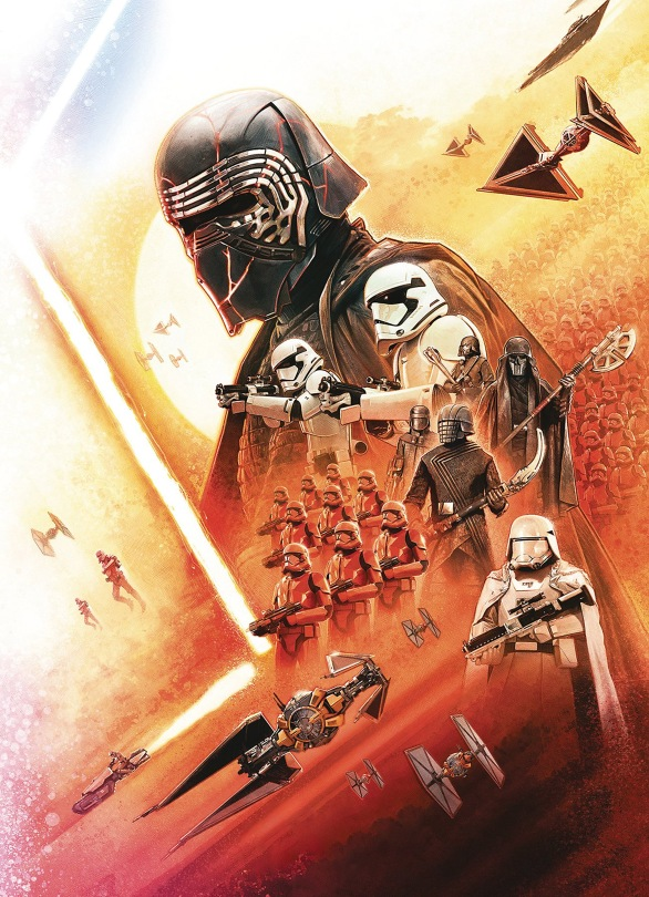 New! Star Wars Insider: The Rise Of Skywalker Cover Art No Text
