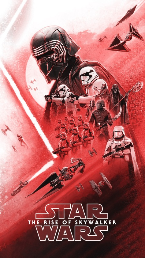 New! Star Wars Insider: The Rise Of Skywalker Cover Art Wallpaper