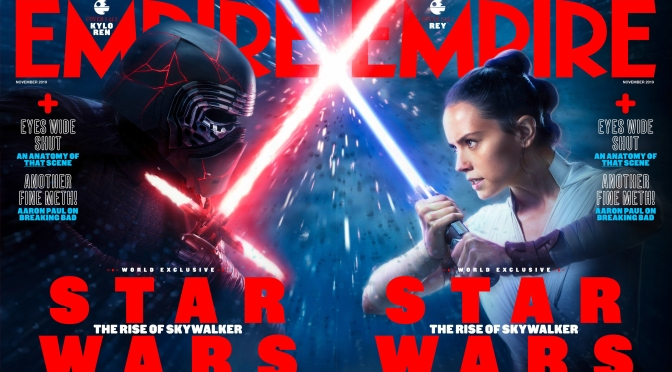 Star Wars - The Rise of Skywalker - Empire Magazine Kylo Ren Cover