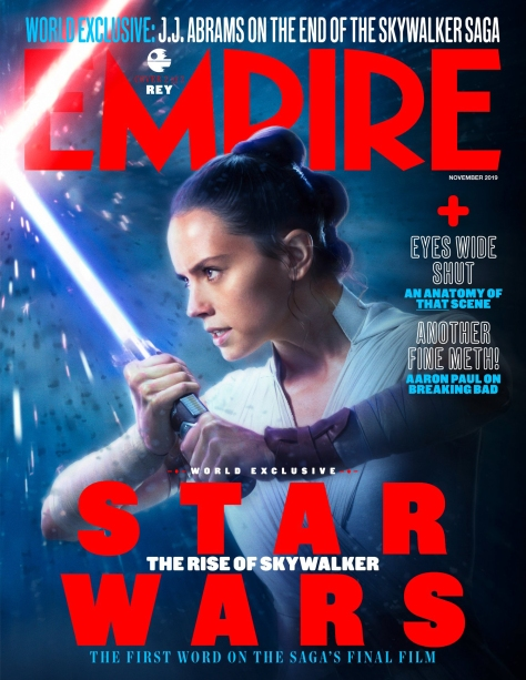 Star Wars - The Rise of Skywalker - Empire Magazine Rey Cover