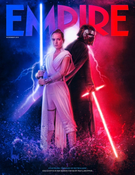 Star Wars - The Rise of Skywalker - Empire Magazine Subscriber Paul Shipper Exclusive Cover