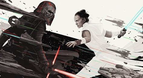 Star Wars - The Rise of Skywalker - Official Art from Birth Movies Death Magazine