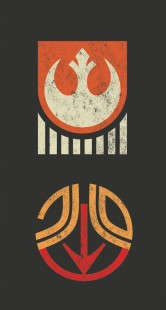 Star Wars - The Rise of Skywalker - Official Style Guide Promotional Artwork - Badges and Emblems - 1