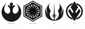 Star Wars - The Rise of Skywalker - Official Style Guide Promotional Artwork - Badges and Emblems