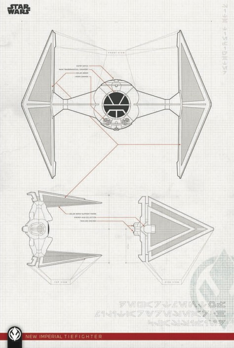 Star Wars - The Rise of Skywalker - Official Style Guide Promotional Artwork - Blueprints