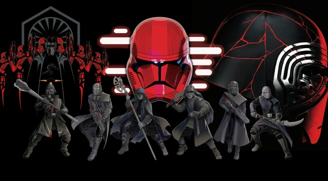 Star Wars: The Rise of Skywalker – The First Order and Knights of Ren 'Official' Promotional Art