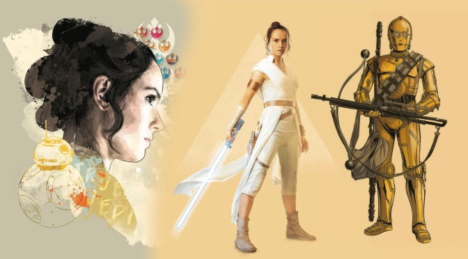 Star Wars - The Rise of Skywalker - Official Style Guide Promotional Artwork - The Resistance