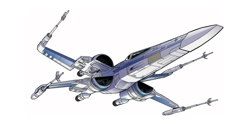 Star Wars - The Rise of Skywalker - Official Style Guide Promotional Artwork - Vehicles Starships and Fighters